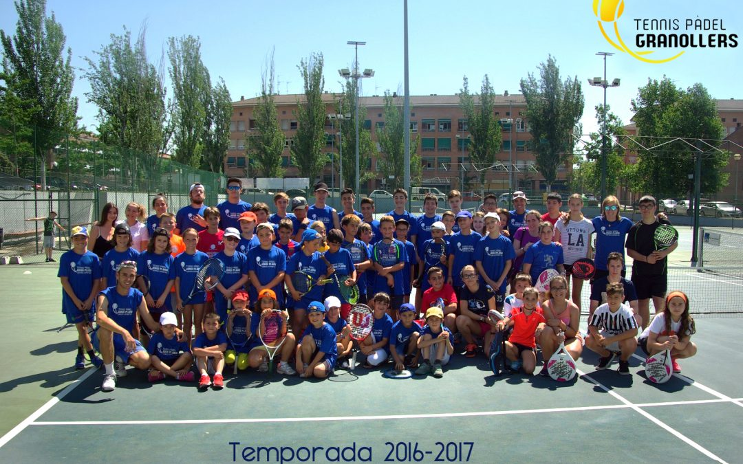 Cloenda Tennis i Pàdel 2016-2017