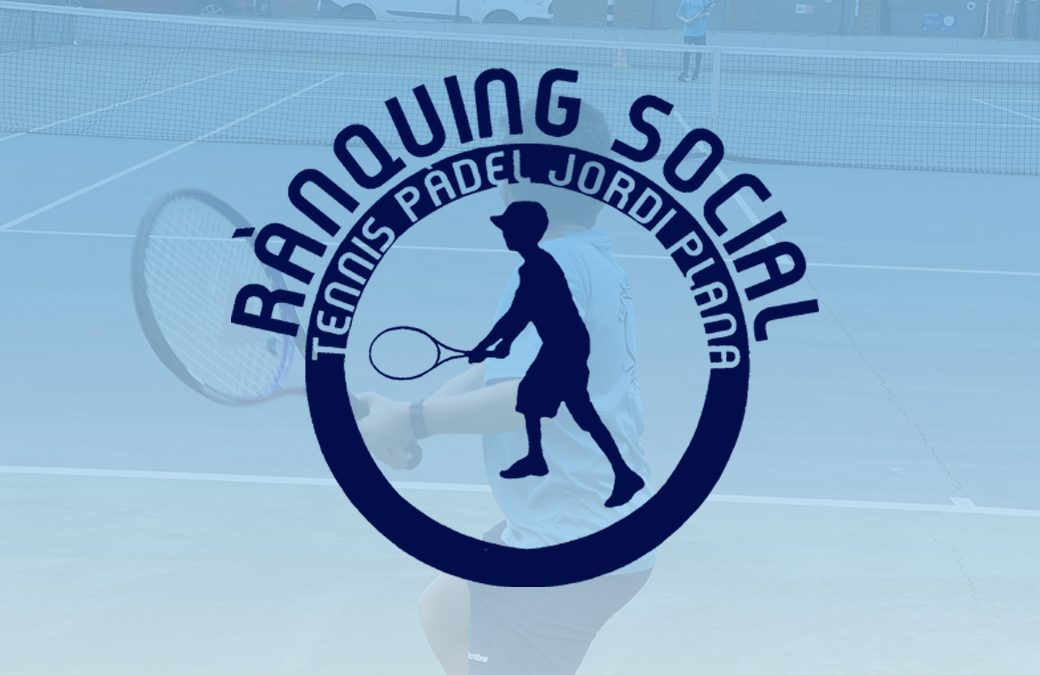 Rànquing Social Infantil de Tennis
